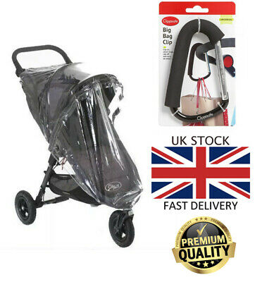 BNWT Baby Quality Universal Buggy Pushchair Stroller Pram Transparent Rain Cover