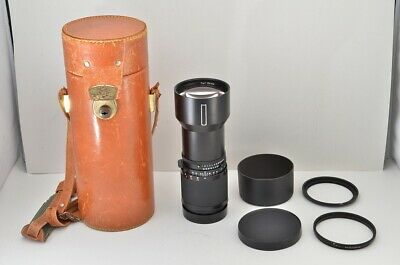 HASSELBLAD Carl Zeiss Tele Tessar T* CF 350mm F5.6 MF Lens w/ Case #190315m