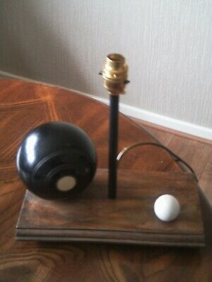 lawn green bowls table lamp. Bespoke | repurposed | tested |