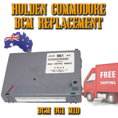 Holden Commodore VY / VZ ++ - Replacement BCM - 961 MID With Key Free Postage -