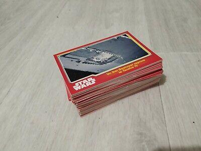 Lot cartes star wars réveil de la force vf