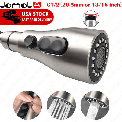 JOMOLA Pull Down Faucet Sprayer Kitchen Faucet Head Replacement Brushed Nickel