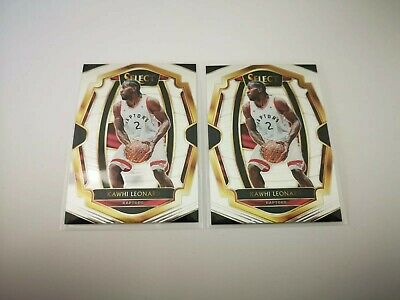 Kawhi Leonard 2018-19 Panini Select #175 Premier Level - Lot of 2