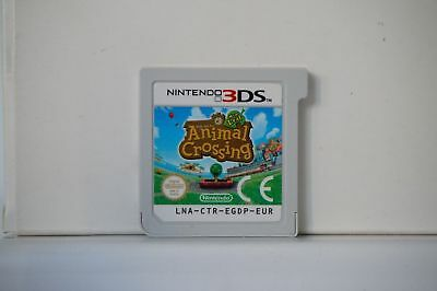 Animal Crossing Nintendo New Leaf 3ds game DS 2013 compatible Australian console