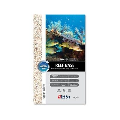 Reef Base Red Sea 10Kg Ocean Whitee. Arena Aragonita Seca Acuario Marino