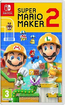 Super Mario Maker 2 (Nintendo Switch) (NEU & OVP) (Blitzversand)