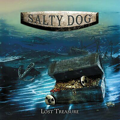 CD: Salty Dog - Lost Treasure (90's hard rock, 2018 release) Fast FREE Shipping
