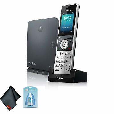 Yealink W60P Wireless DECT IP Cordless Office Phone w/Universal Screen Cleaner