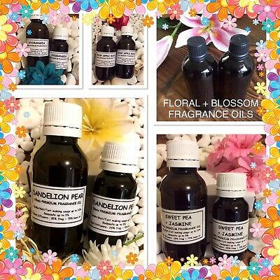 🌻💐Floral+Blossom 🌸🌺Type~Fragrance Oils~D.i.y Candle/Melt/Soap/Reed Diffuser