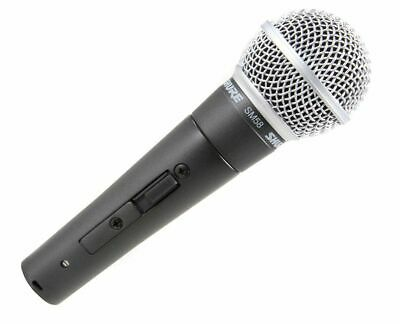 Shure SM58S Cardioid Dynamic Vocal Microphone Microphone w/ On/Off Switch