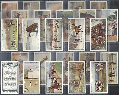 Churchman-Full Set- Sports & Games In Many Lands (25 Cards) - Babe Ruth Baseball