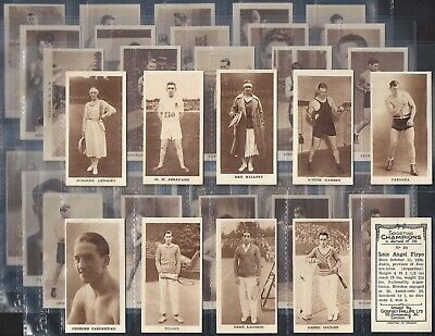 Phillips-Full Set- Sporting Champions (36 Cards) Boxing Tennis - Exc