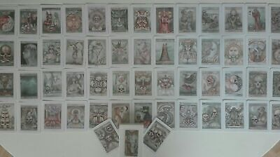 Very Rare Lost Tarot Deck Dominic Murphy Art Oracle Occult Fortune Teller