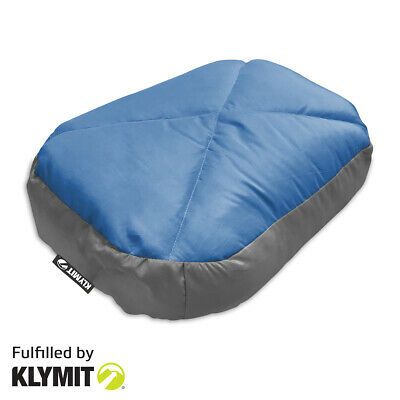KLYMIT Top DOWN PILLOW Comfort Camping Hiking Pillow - FACTORY REFURBISHED