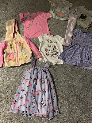 Small 3-4 Girls Bundle Next George Peacocks M And  S 7 Items