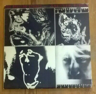 The Rolling Stones ‎– Emotional Rescue Vinyl LP Album With poster 33rpm 1980