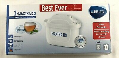 BRITA Maxtra+ Plus Universal Filter Replacement Cartridges Pack Hot Cold Drinks