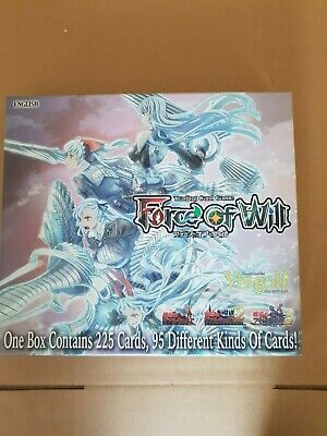 Force of Will Vingolf 2 Valkyria Chronicles Set - 225 cards! OPENED/USED