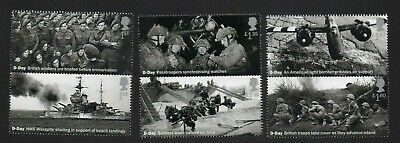 Gb 2019 D Day 75Th Stamp Set