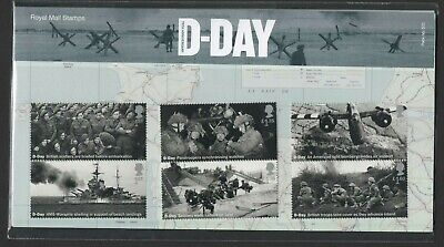 Gb 2019 D Day 75Th Stamp Presentation Pack