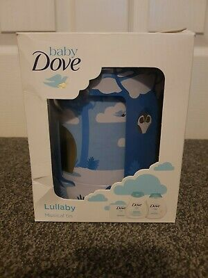 Dove Lullaby Musical Tin With Shampoo Lotion And Baby Bar Brand New Free UK Post
