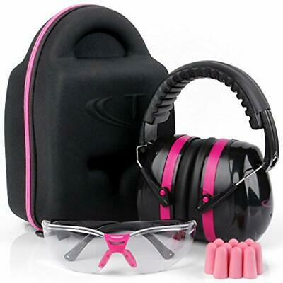 Bolle RUSH Plus Clear Safety Glasses Class 5 Earmuffs Eye and Ear Safety Kit