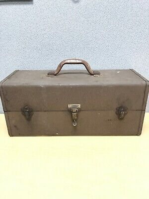 Vintage Kennedy T-18 Tackle Box Fishing Tool Machinists MADE IN USA