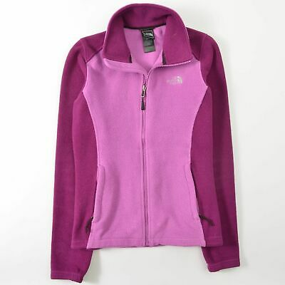 e5ad2cce7 WOMEN'S THE NORTH Face Flashdry Pink Gray Fleece Jacket Size XL ...