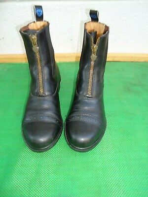 d8be982f166 ARIAT COBALT LACE Up Riding Paddock Barn Boots Mens Size 11 B Brown ...