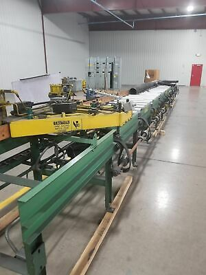 1995 B&O CNC industrial Extrusion Metal Automatic Saw with Bar feed and Chips sy