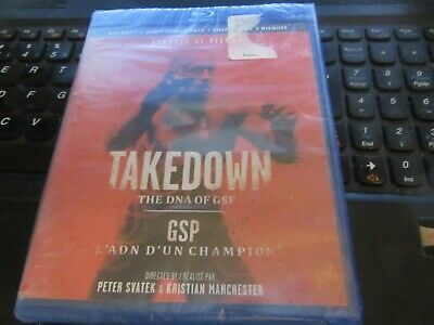 Takedown: The DNA of GSP (Blu-ray + DVD) factory sealed
