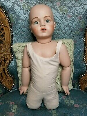 Beautiful Large  French BRU JNE 13 Bebe Doll Bisque Open Mouth