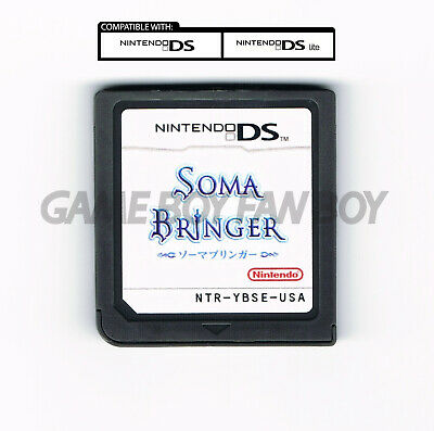 Soma Bringer ENGLISH Translation Nintendo DS Custom Cartridge RPG