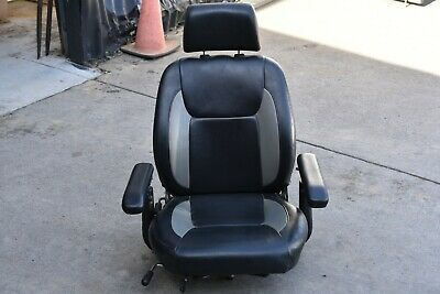 Mobility Scooter Seat with Arm Rests - GC