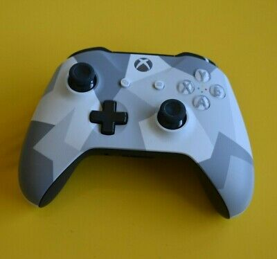 Genuine Microsoft Xbox One S Winter Forces Controller Limited Edition Control
