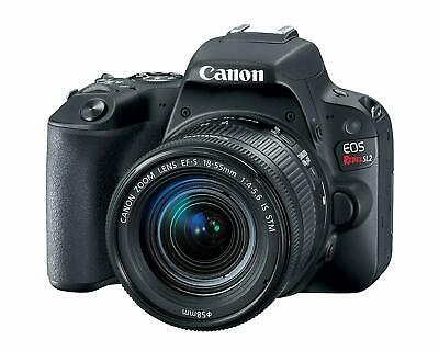 Canon EOS Rebel SL2 DSLR Camera with EF-S 18-55mm STM Lens - WiFi Enabled new!!!