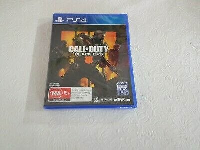 call of duty black ops 4 IIII ps4 Playstation 4 brand new sealed free post