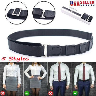 Adjustable Near Shirt-Stay Best Shirt Stays Tuck It Belt Shirt Tucked Men's Belt