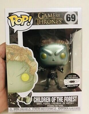 FUNKO POP Metallic Children Of The Forest Game Of Thrones #69 NYCC HBO Exclusive