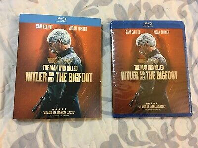 The Man Who Killed Hitler and then The Bigfoot Blu-ray, NEW, 2019 Sealed New