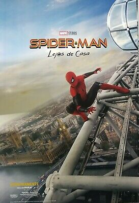 Spider-man : Far From Home Spanish A Movie Poster Double Sided 27x40 Original