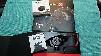 RODE Stereo VideoMic X Broadcast On-Camera Microphone