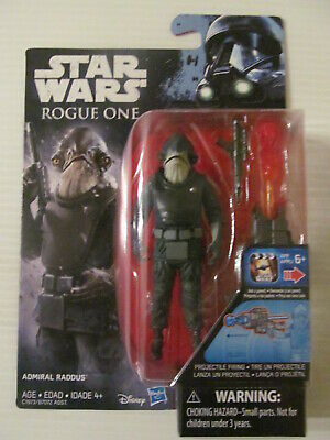 "Star Wars: Rogue One - 3.75"" Figure - Admiral Raddus - Sealed"