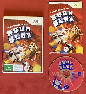 Boom Blox Game for Nintendo Wii / Wii U PAL complete