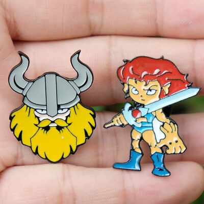 Viking Nordic brooch pin vintage metal brooches for women and men Enamel Pins