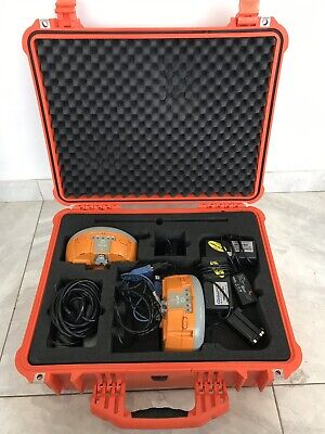 2X Altus APS-3G RTK GPS GNSS Receivers In Hard Carry Case With Accessories