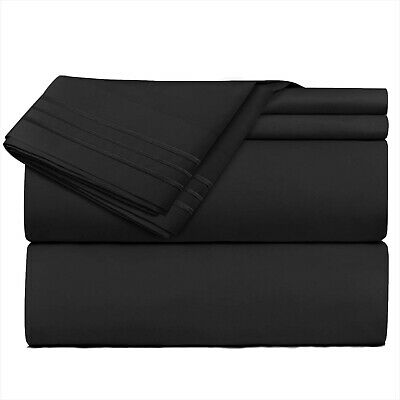 Nestl Bedding 3 Piece Sheet Set - 1800 Deep Pocket Bed Sheet Set - Hotel Luxu...