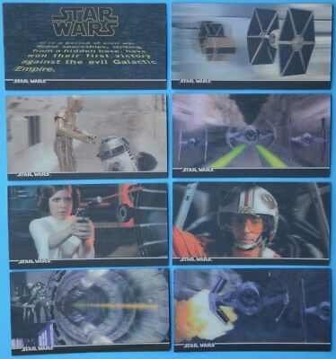 STAR WARS 3DI complete 3D lenticular trading card set - TOPPS - 1996