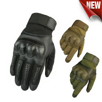 Motorcycle Gloves Tactical Military Motorbike Hiking Hunting Outdoor Sports Army