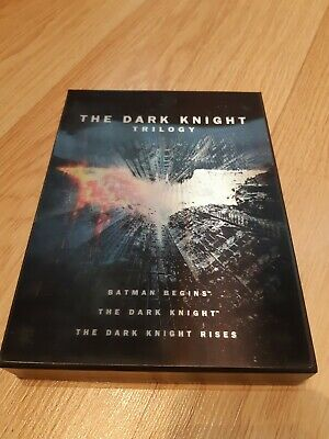 The Dark Knight Trilogy Collector's Edition DVD with Booklet